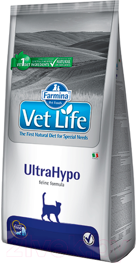 Купить Корм для кошек Farmina, Vet Life UltraHypo (5кг), Италия