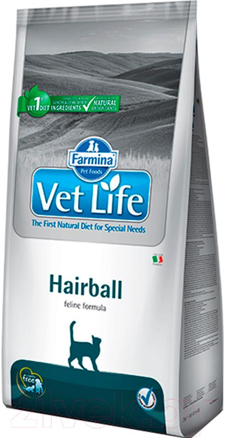 Купить Корм для кошек Farmina, Vet Life Hairball (2кг), Италия