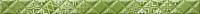 Бордюр Golden Tile Relax Aura 49С411 (400x30, зеленый) -