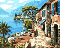 Картина по номерам Picasso Прибрежное кафе (PC4050139) -