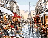 Картина по номерам Picasso Люблю тебя! Париж! (PC4050147) -