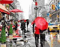 Картина по номерам Picasso Дождь в Нью-Йорке (PC4050148) -