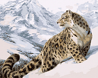 Картина по номерам Picasso Снежный барс (PC4050161) -