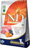 Корм для собак Farmina N&D Grain Free Pumpkin Lamb & Blueberry Puppy Mini (7кг) -