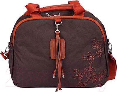 Сумка для ноутбука American Tourister Line 11A-13041 (коричнево-оранжевый) - общий вид