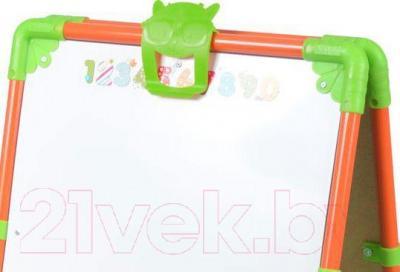 Мольберт детский Ника М1 (оранжевый)