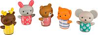 Набор игрушек для ванной Happy Baby Little Friends 32024 -