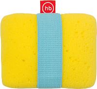 Мочалка Happy Baby Sponge+ 35004 (желтый) -