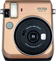 Фотоаппарат с мгновенной печатью Fujifilm Instax Mini 70 (золото) -