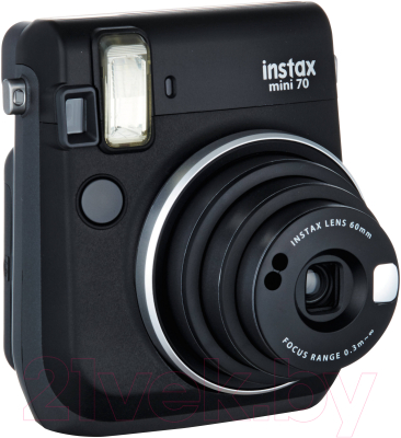 Фотоаппарат с мгновенной печатью Fujifilm Instax Mini 70 (черный)
