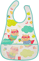 Нагрудник детский Happy Baby Waterproof Baby Bib 16005 (поросята) -
