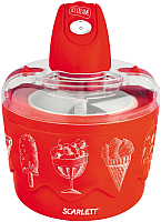 Мороженица Scarlett SC-IM22255 (красный) -