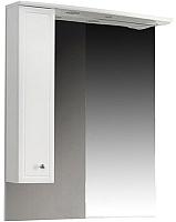Шкаф с зеркалом для ванной Belux Адажио В80Ш (левый) -