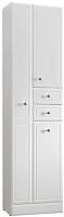Шкаф-пенал для ванной Belux Адажио П50-02К (белый, правый) -