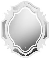 Зеркало Belux Кастилия В90 (белый) -
