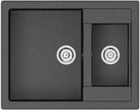 Мойка кухонная Berge BR-6150 (черный) -