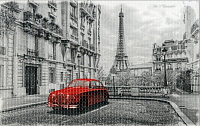 Декоративная плитка PiezaRosa Лимузин 341241 (400x250, красный) -