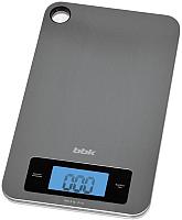 Кухонные весы BBK KS152M (металлик) -