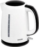 Электрочайник BBK EK1730P (белый/черный) -