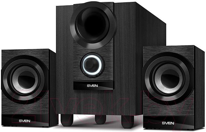 Купить Мультимедиа акустика Sven, MS-150 (черный), Китай