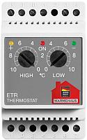 Терморегулятор для теплого пола Warmehaus ETR/F -