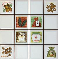 Декоративная плитка Сокол Моноколор D712 (330x330) -