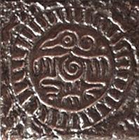 Декоративная плитка Сокол Ацтеки D572 AZ (110x110) -