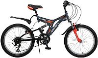 Детский велосипед Novatrack Titanium 20SS12V.TITANIUM.GR6 -