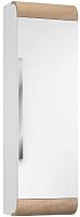 Шкаф-полупенал для ванной Belux Итака ПН40 (белый/молочный дуб) -