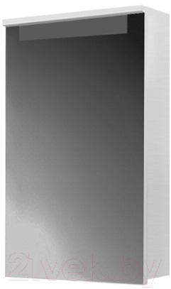 Купить Шкаф с зеркалом для ванной Belux, Сонет-Сити ВШ50 (правый), Беларусь