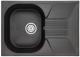 Мойка кухонная Granula GR-7002 (шварц) -
