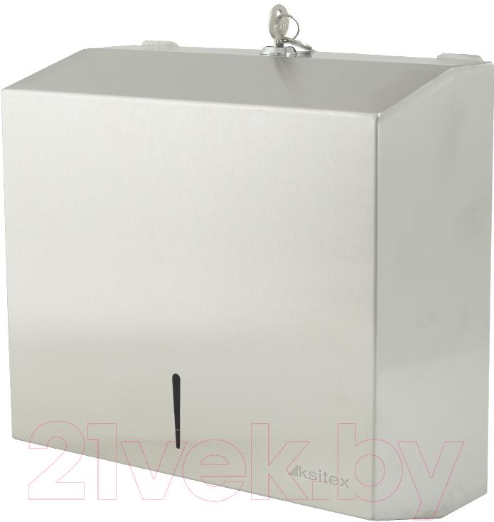 Купить Диспенсер для бумажных полотенец Ksitex, TH-5821 SS, Китай, нержавеющая сталь