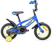 Детский велосипед AIST Pluto (16, синий) -