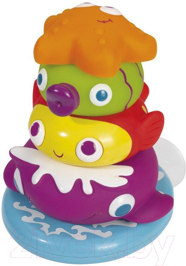 Купить Развивающая игрушка Simba, Пирамидка с игрушками-брызгалками 104019678, Китай, пластик