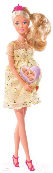 Купить Кукла Simba, Штеффи беременная с люлькой 105737084, Китай, пластик