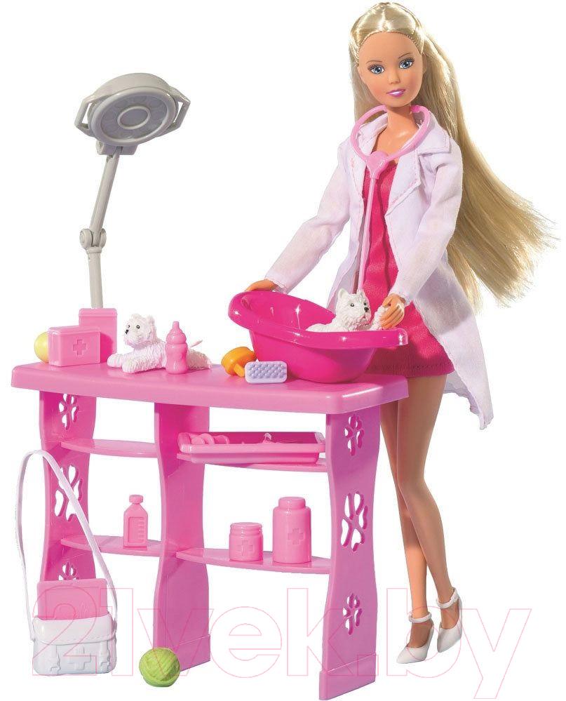 Купить Кукла Simba, Штеффи-ветеринар с аксессуарами 105737393, Китай, пластик