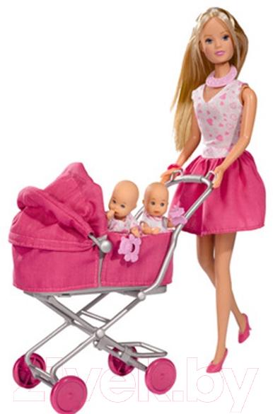Купить Кукла Simba, Штеффи с большой коляской 105738060, Китай, пластик