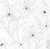 Панно Cersanit Mei Lara (594x600, белый) -