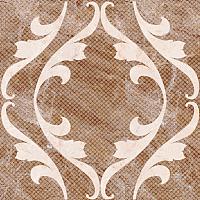 Декоративная плитка Нефрит-Керамика Бельведер / 01-10-1-16-01-15-410 (385x385, коричневый) -
