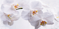 Панно Нефрит-Керамика Панно Меланж / 06-01-1-45-04-61-440-0 (1000x500, голубой) -