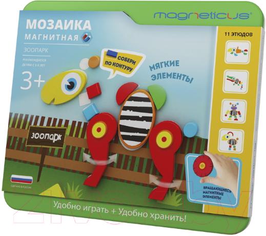 Купить Развивающая игрушка Magneticus, Зоопарк / MС-003, Россия