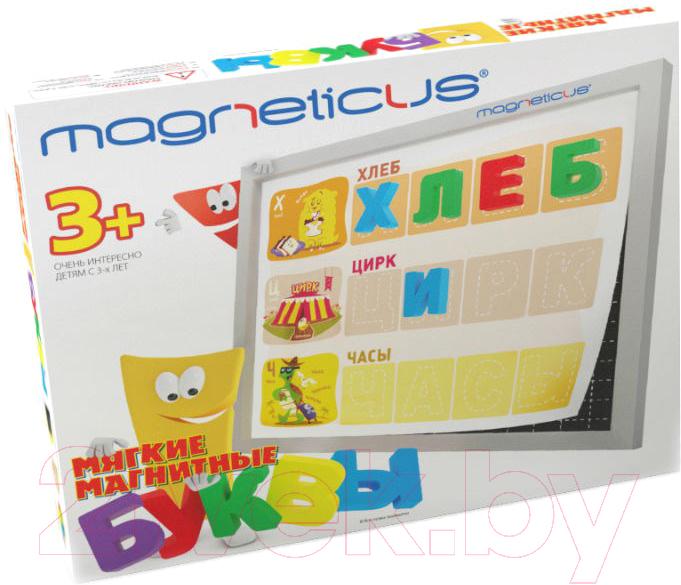 Купить Развивающая игрушка Magneticus, Буквы и звуки / OBU-004, Россия, пластик