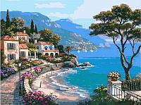 Картина по номерам Picasso Средиземноморский залив (PC4050209) -