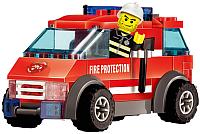 Конструктор Kazi Пожарный джип 8057 -