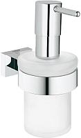Дозатор жидкого мыла GROHE Essentials Cube 40756001 -