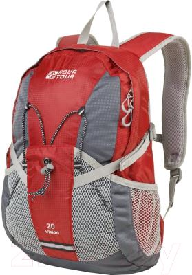 Рюкзак Nova Tour Вижн 20 (серый/красный)