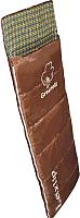 Спальный мешок GREENELL Лейкслип (левый, коричневый) -