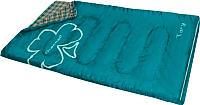 Спальный мешок GREENELL Тори (левый, зеленый) -