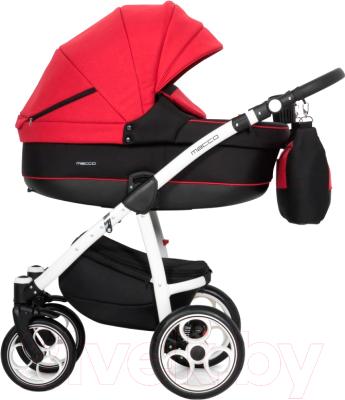 Детская универсальная коляска Riko Macco 2 в 1 (04/scarlet)