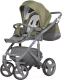 Детская универсальная коляска Riko Vario 3 в 1 (03/olive) -